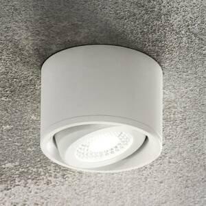 Fabas Luce LED Downlight Anzio, výkyvné, biele