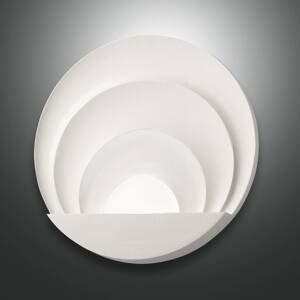 Fabas Luce Nástenné LED svietidlo Sunrise, biele