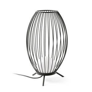 FARO BARCELONA Terasová LED lampa Cage v dizajne klietky