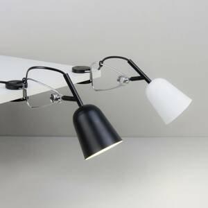 FARO BARCELONA Upínacia lampa Studio, čierna/krémová