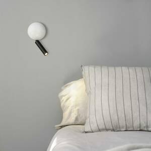FARO BARCELONA Nástenné LED svietidlo Press, biela