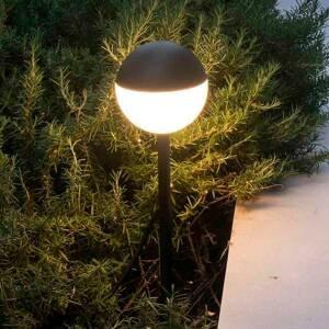FARO BARCELONA Chodníkové LED Piccola hrot do zeme v čiernej