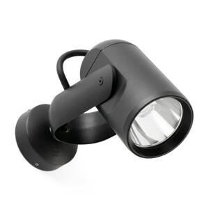FARO BARCELONA Vonkajšie nástenné bodové LED svetlo Slot, 20cm