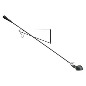 FLOS FLOS 265 – flexibilné nástenné svietidlo čierne