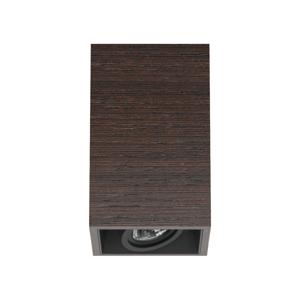 FLOS ARCHITECTURAL FLOS Compass Box S – stropné svietidlo farba wenge