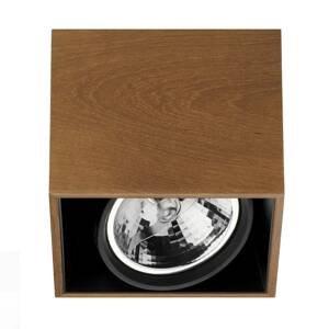 FLOS ARCHITECTURAL FLOS Compass Box H135 – stropné svietidlo teak