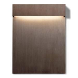 FLOS FLOS Real Matter zapustené LED svetlo IP65 bronz