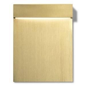 FLOS FLOS Real Matter zapustené LED svetlo IP65 zlaté