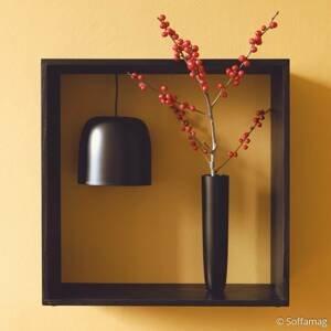 FLOS FLOS Gaku Wire stolná LED lampa, čierna