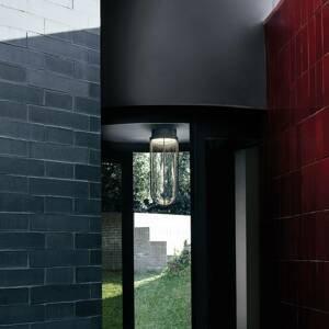 FLOS FLOS In Vitro Ceiling stropné svetlo 2700 antracit