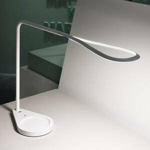 Fontana Arte Fontana Arte Kinx LED lampa na písací stôl, biela