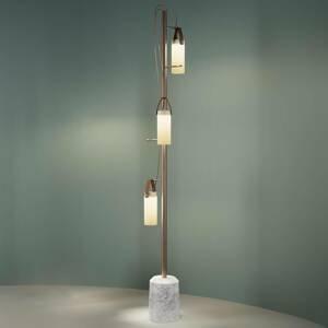 Fontana Arte Fontana Arte Galerie stojaca LED lampa 3-plameňová