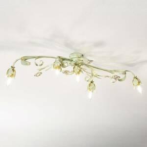 Ferro Luce Florentínske stropné svietidlo Tulipe, 5-plameňové
