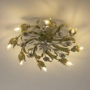 Ferro Luce Florentínske stropné svietidlo Tulipe 8-pl okrúhle