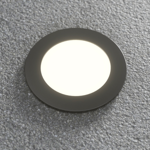 Fumagalli Podlahová lampa Ceci 120 čierna 3W 3000K