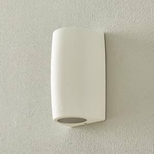 Fumagalli Nástenná lampa Marta 9,2 cm 2–pl. CCT biela/matná