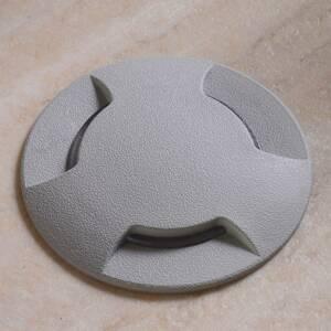 Fumagalli LED podlahové svietidlo Ceci 120–3L sivá CCT