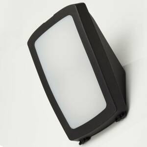 Fumagalli LED vonkajšia nástenná lampa Germana, čierna CCT