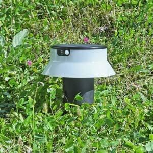 Fumagalli Solárna LED Felice čierna CCT s hrotom do zeme