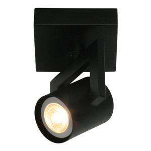 Freelight Moderné svietidlo ValvoLED, čierne, 1-plameňové