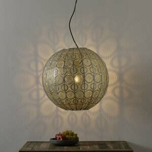 Freelight Závesná lampa Stampa, guľovitá, Ø 50cm