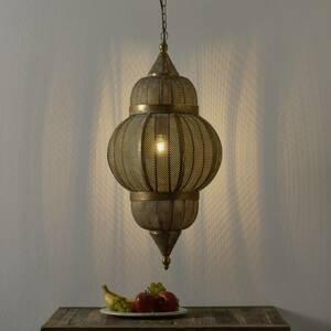 Freelight Závesná lampa Aladino v orientálnom štýle Ø 38cm