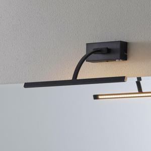 Freelight Nástenné LED svietidlo Matisse šírka 34cm, čierne