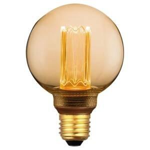 Freelight LED miniglobe E27 5W teplá biela 3stmievanie zlatá
