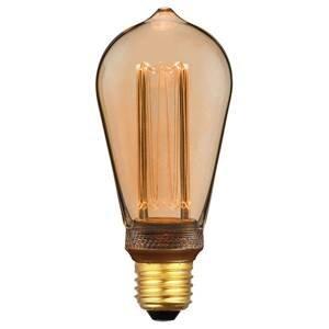 Freelight LED rustik žiarovka E27 5W 1800K 3-stmiev zlatá
