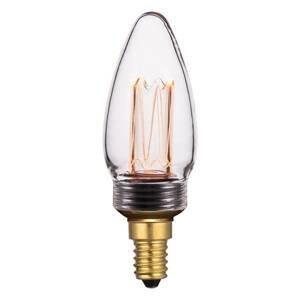 Freelight Sviečková LED E14 2W filament stmievateľná číra