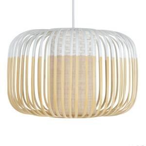 Forestier Forestier Bamboo Light S závesná lampa 35cm biela