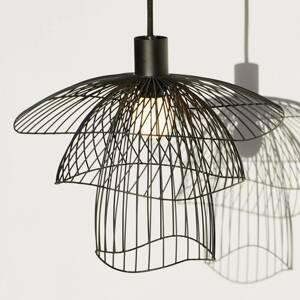Forestier Forestier Papillon XS závesná lampa, 30cm, čierna