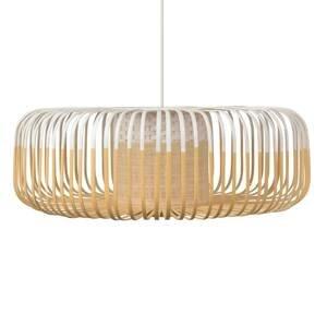 Forestier Forestier Bamboo Light XL závesná lampa 60cm biela