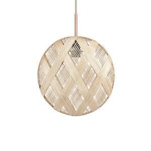 Forestier Forestier Chanpen M Diamant závesná lampa prírodná