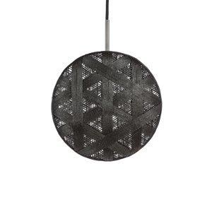 Forestier Forestier Chanpen M Hexagonal závesná lampa čierna