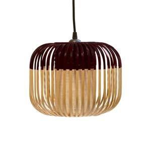 Forestier Forestier Bamboo Light XS závesná lampa 27cm čiern