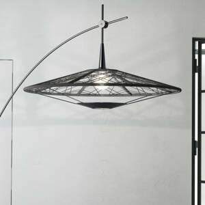 Forestier Forestier Carpa stojaca lampa čierna, výška 200cm