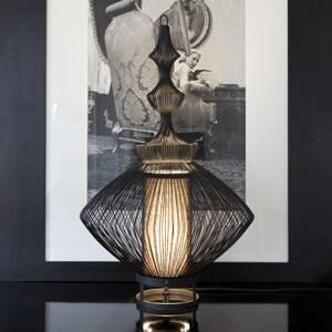 Forestier Forestier Opium stolná lampa, čierna