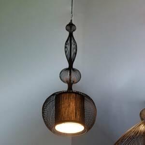 Forestier Forestier Impératrice závesná lampa, čierna