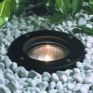 Albert Leuchten Čierne zapustené LED svetlo do zeme Raimondo