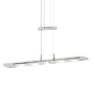 Knapstein 5-plameňové závesné LED svietidlo lineárne nikel