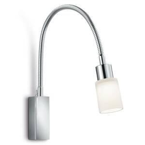 Knapstein Flexibilné nástenné LED Poseidon chrómový vzhľad