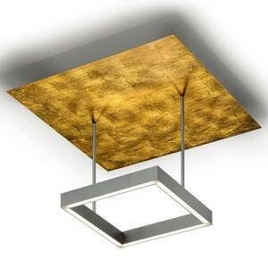 Knapstein Stmievateľné stropné LED Demeter lístkové zlato