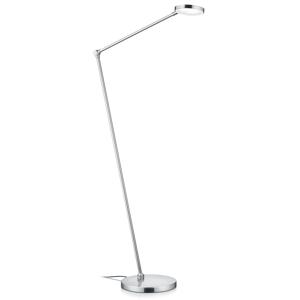 Knapstein Stojaca LED lampa Thea-S ovládanie gestom chróm
