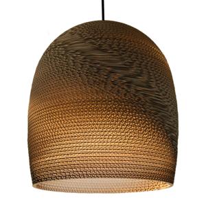 Graypants Bell – z kartónu vyrobená závesná lampa