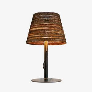 Graypants Kartónová stolná lampa Tilt ekologická