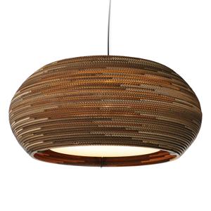 Graypants Ohio32 – závesná lampa z kartónu