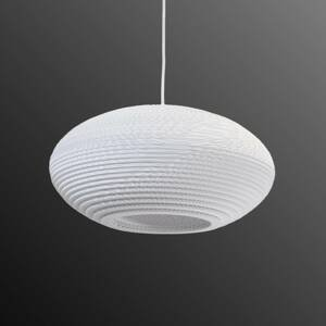 Graypants Závesná lampa Disc biela Ø 43cm