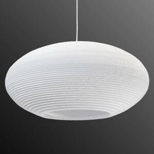Graypants Závesná lampa Disc biela Ø 61cm