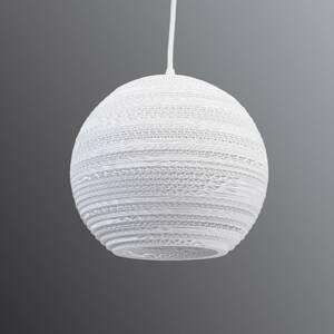 Graypants Guľatá závesná lampa Lopta – Ø 26cm